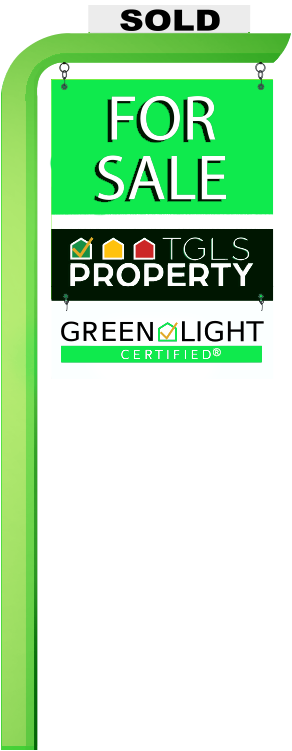 The Green Light System For Sale Sign