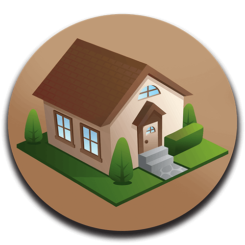 Residential Real Estate Service Icon